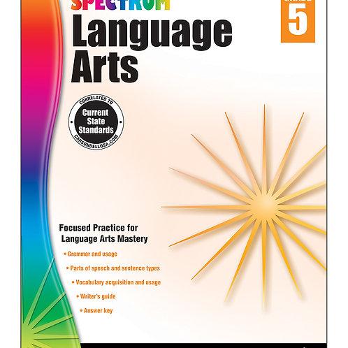 Spectrum Language Arts Workbook Grade 5