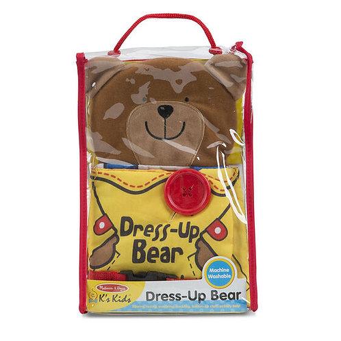 Dress-Up Bear Cloth Book