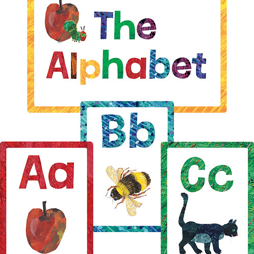 World of Eric Carle™ Alphabet Bulletin Board Set Grade
