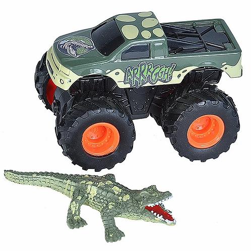 Mini Truck and Crocodile Adventure Set
