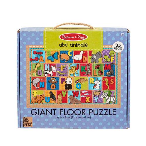 ABC Animals Giant Floor Puzzle