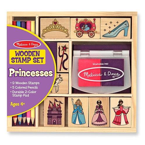 Wooden Stamp Set - Princesses