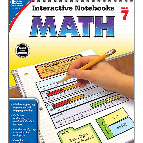 Interactive Notebooks: Math Grade 7