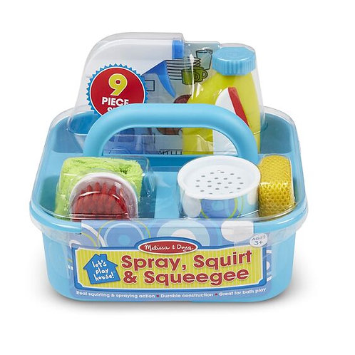 Let's Play House! Spray, Squirt & Squeegee