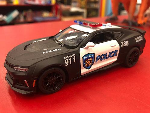 Pull-Back Police Camaro ZL1