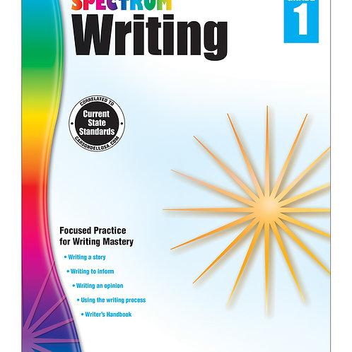 Spectrum Writing Workbook Grade 1