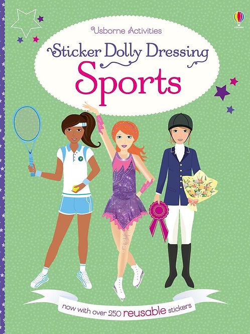 Sticker Dolly Dressing Sports