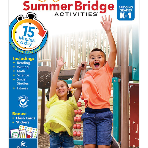 Summer Bridge Activities Grade K-1