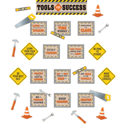 Under Construction Tools for Success Set
