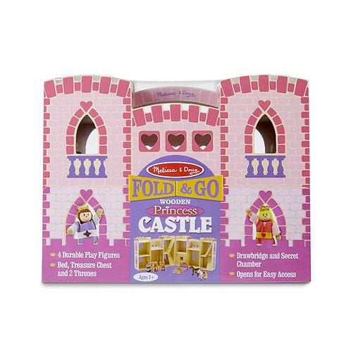 Fold & Go Wooden Princess Castle