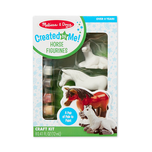 Created by Me! Horse Figurines Craft Kit