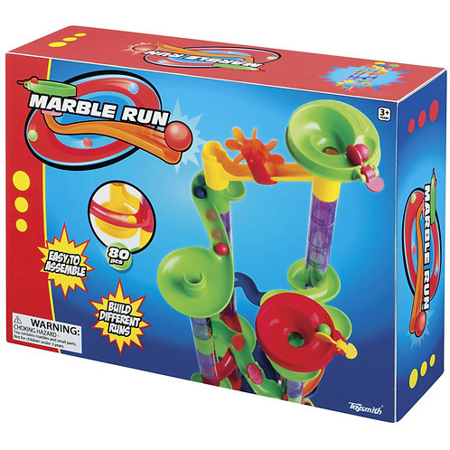 Toysmith Marble Run, 80-Piece