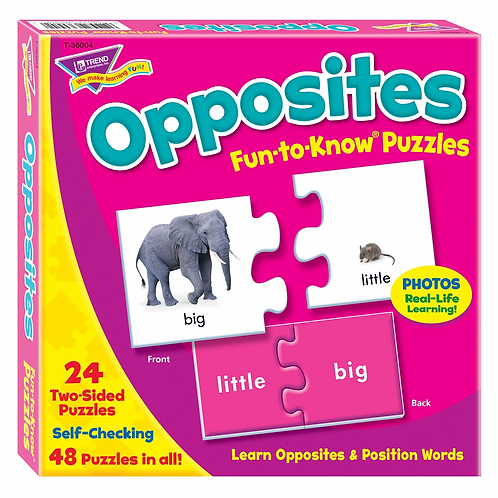 Fun-to-Know Puzzles: Opposites