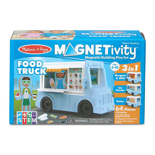 Magnetivity Magnetic Building Play Set - Food Truck