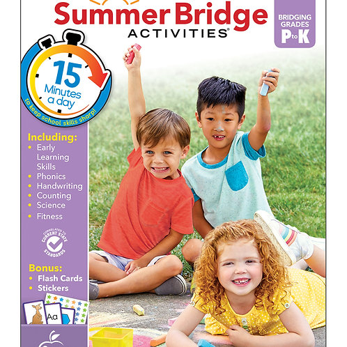 Summer Bridge Activities Grade PK-K