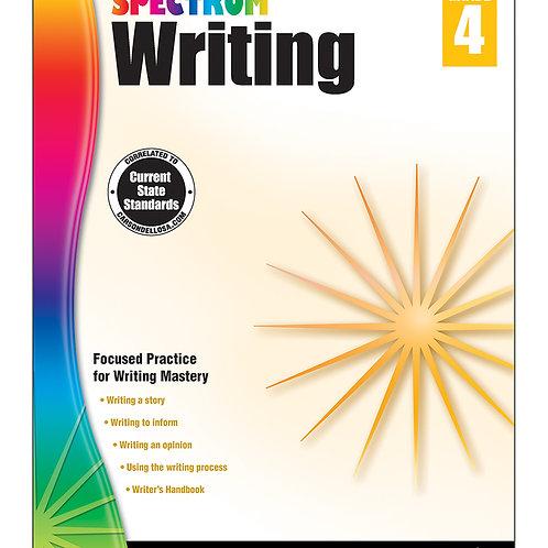 Spectrum Writing Workbook Grade 4