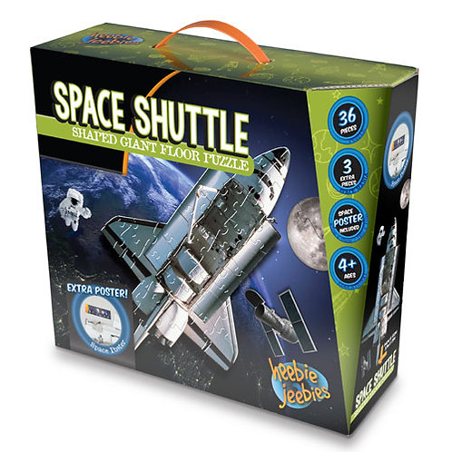 Space Shuttle Shaped Floor Puzzle