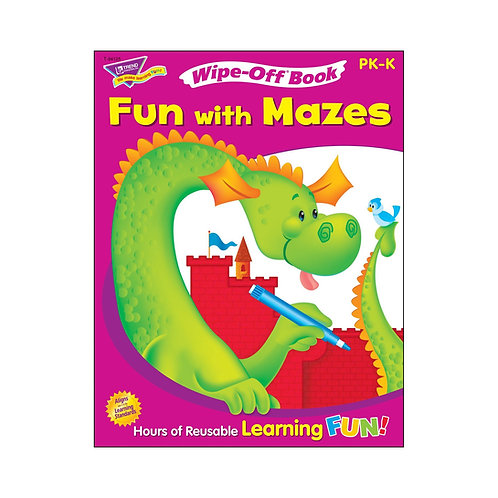 Wipe-Off Book: Fun with Mazes