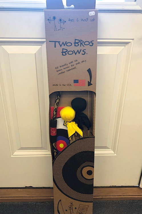 Two Bros Bows: Bow and Arrows