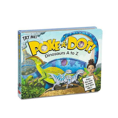 Poke-a-Dot - Dinosaurs A to Z