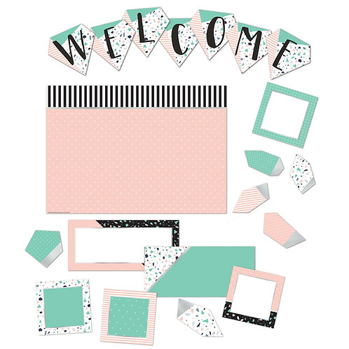 Simply Sassy Welcome Bulletin Board Set