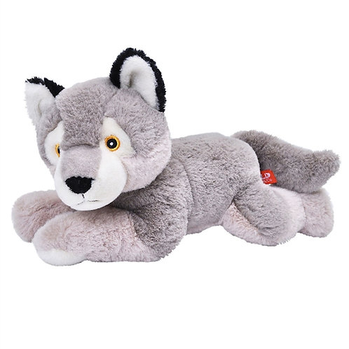 Stuffed Wolf EcoKins by Wild Republic