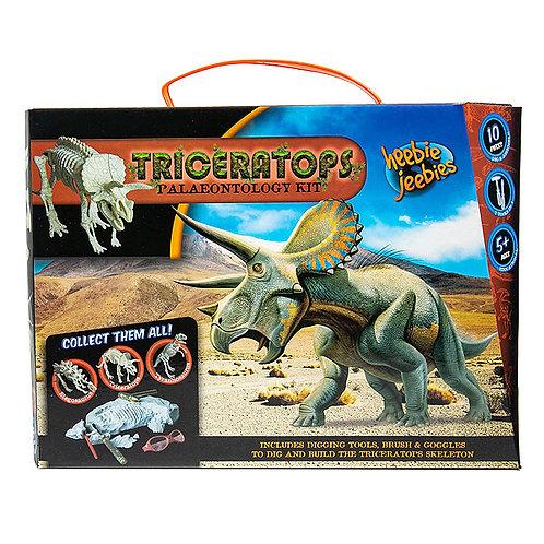Paleontology Kit - Triceratops