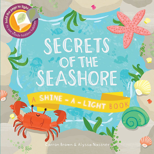 Secrets of the Seashore Shine a Light Book