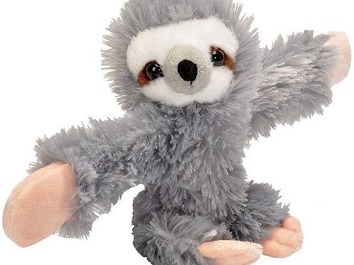 Huggers Sloth Stuffed Animal Slap Bracelet