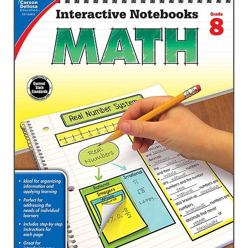 Interactive Notebooks: Math Grade 8
