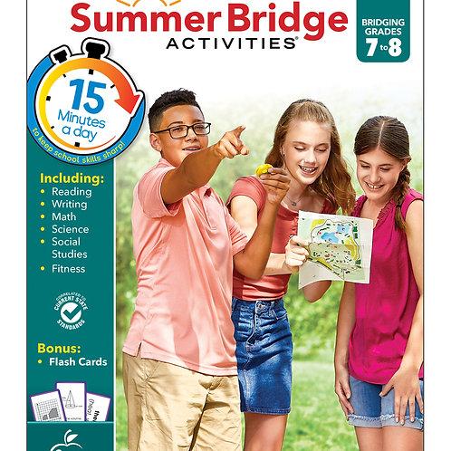 Summer Bridge Activities Grade 7-8