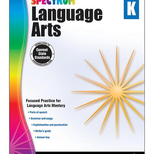 Spectrum Language Arts Workbook Grade K