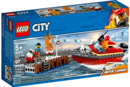 City Dock Side Fire