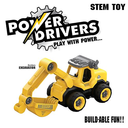 Power Drivers Builders: Excavator
