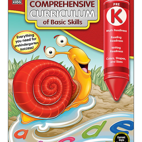 Comprehensive Curriculum of Basic Skills Grade PK