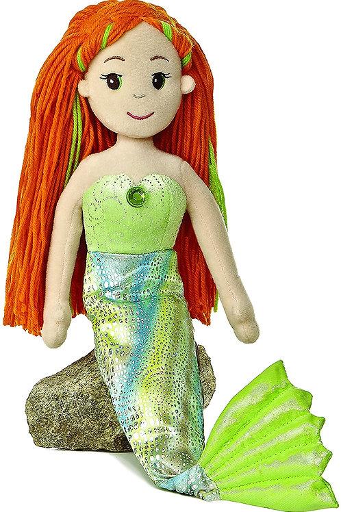 "Meriel Mermaid 18"" Plush"