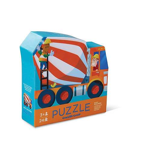 Busy Builders Two Sided Puzzle