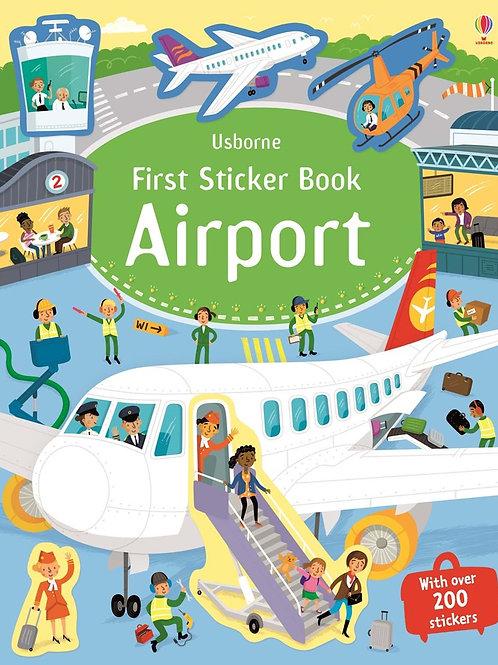 First Sticker Book Airport