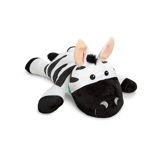 Cuddle Zebra Jumbo Plush