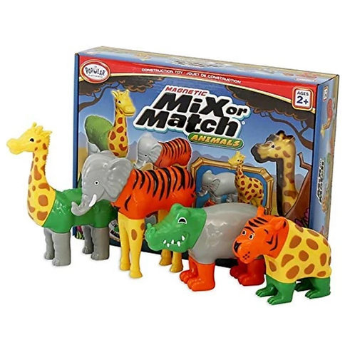Mix or Match Animals - Jungle