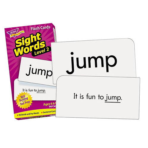 Sight Words – Level 2 Flash Cards