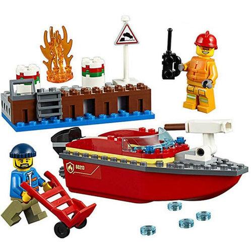 Dock Side Fire LEGO