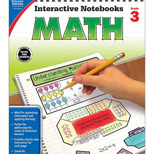Interactive Notebooks: Math Grade 3