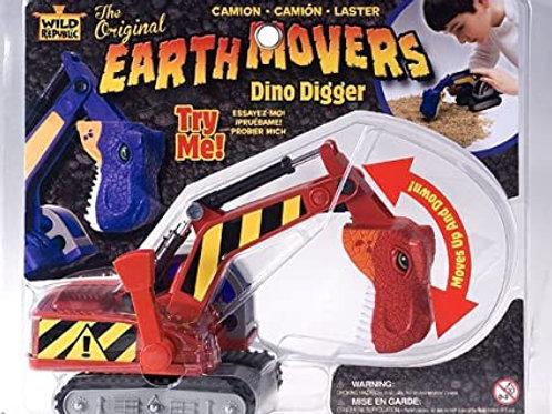 Red Dinosaur Digger
