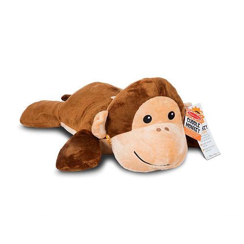 Cuddle Monkey Jumbo Plush