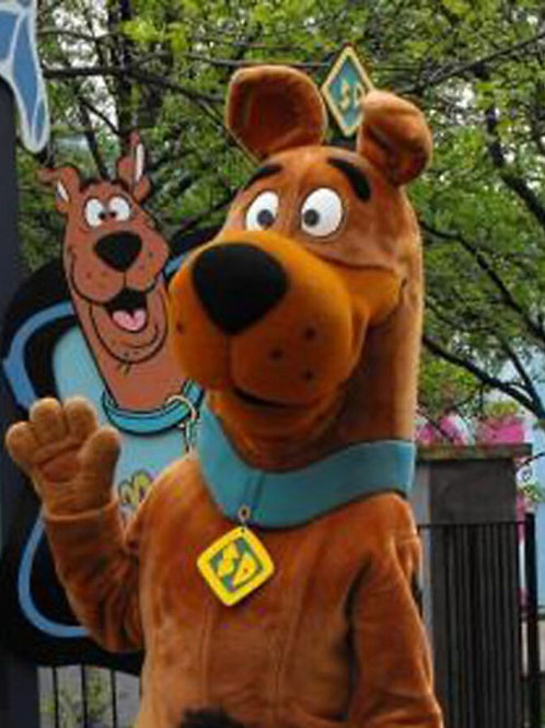 Delivery by Scooby-Doo!