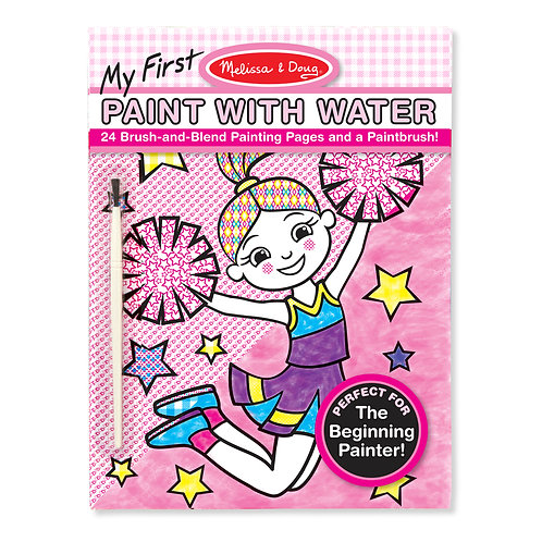 My First Paint With Water Cheerleaders, Flowers, Fairies, and More
