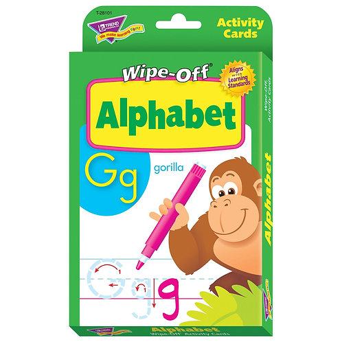 Alphabet Wipe-Off® Activity Cards