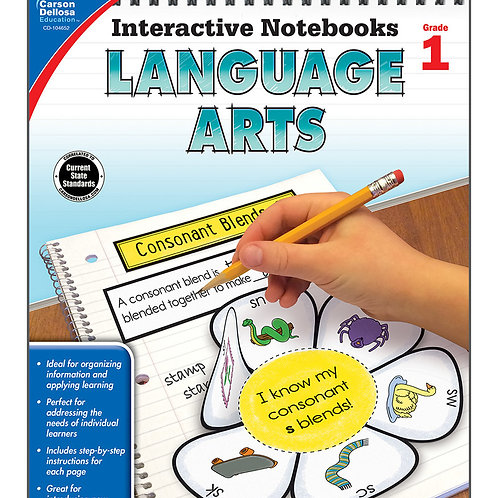 Interactive Notebooks: Language Arts Grade 1
