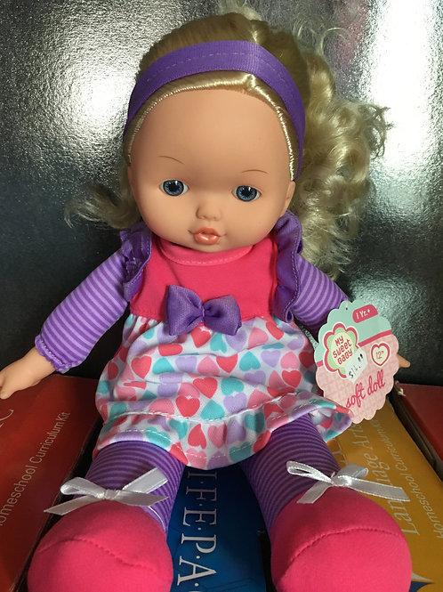 "My Sweet Baby- 12"" Soft Doll"